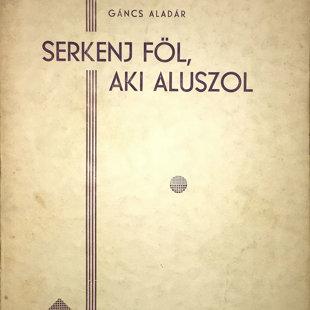 Az 1939-ben megjelent posztumusz könyvének címlapja